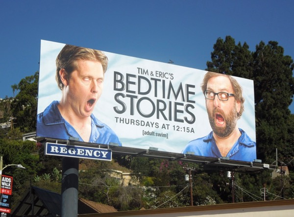 Tim Eric Bedtime Stories season 1 billboard