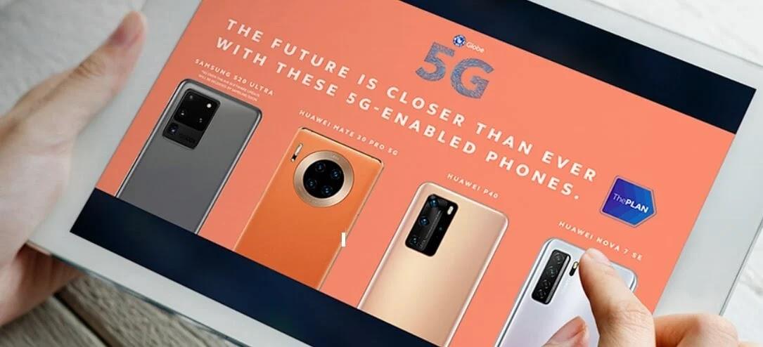 Globe 5G-Enabled Smartphones