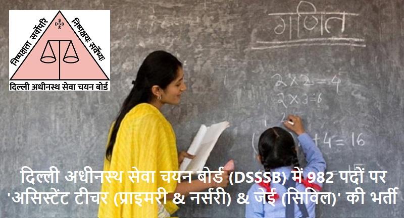 DSSSB jobs 2019