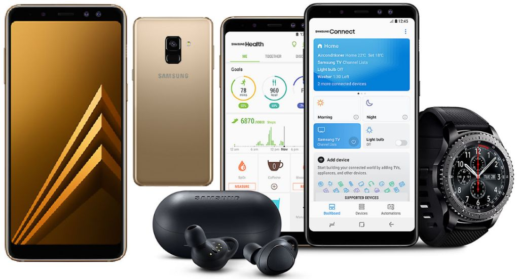 Samsung Galaxy A8 2018 beserta fitur dan spesifikasi lengkap