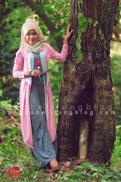 hijaber cantik dari bangka belitung