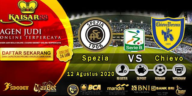 Prediksi Bola Terpercaya Liga Italia B Spezia vs Chievo 12 Agustus 2020