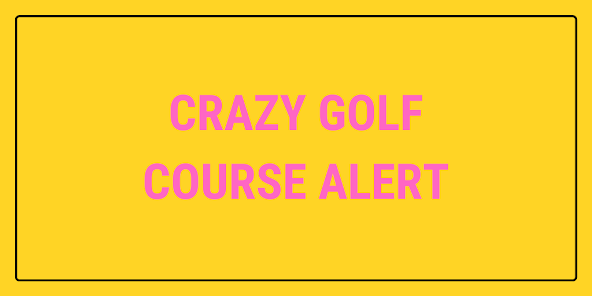 A new Putt Club crazy golf course is opening in Watford, Hertfordshire