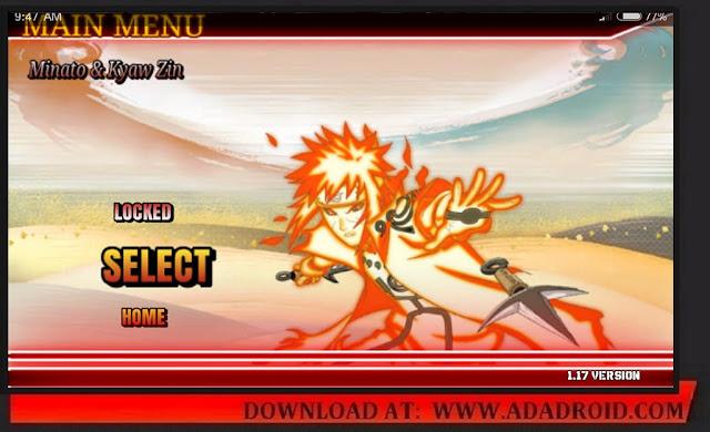 Download Naruto Senki Collaboration Mod KZ & Minato Apk