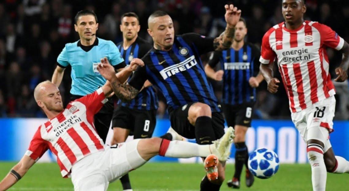 Fanno vedere INTER PSV Streaming e Diretta TV in chiaro?