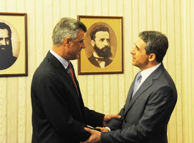 Thaci - Plevneliev: Bulgaria and Kosovo, excellent cooperative relationship
