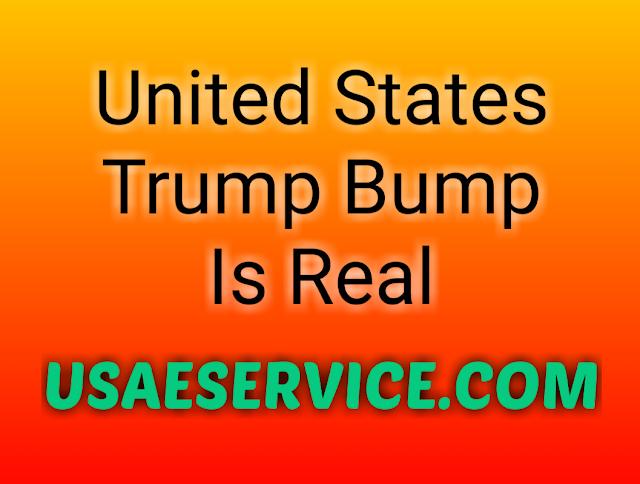 Trump Bump Is Real