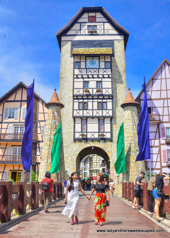 entrance of Colmar Tropicale Malaysia