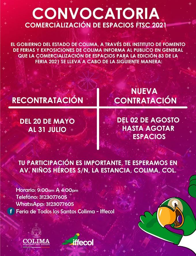 Feria de Todos los Santos Colima 2021