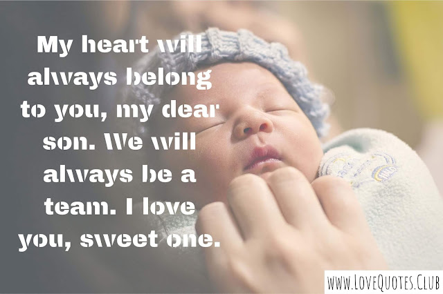 love quotes for baby son