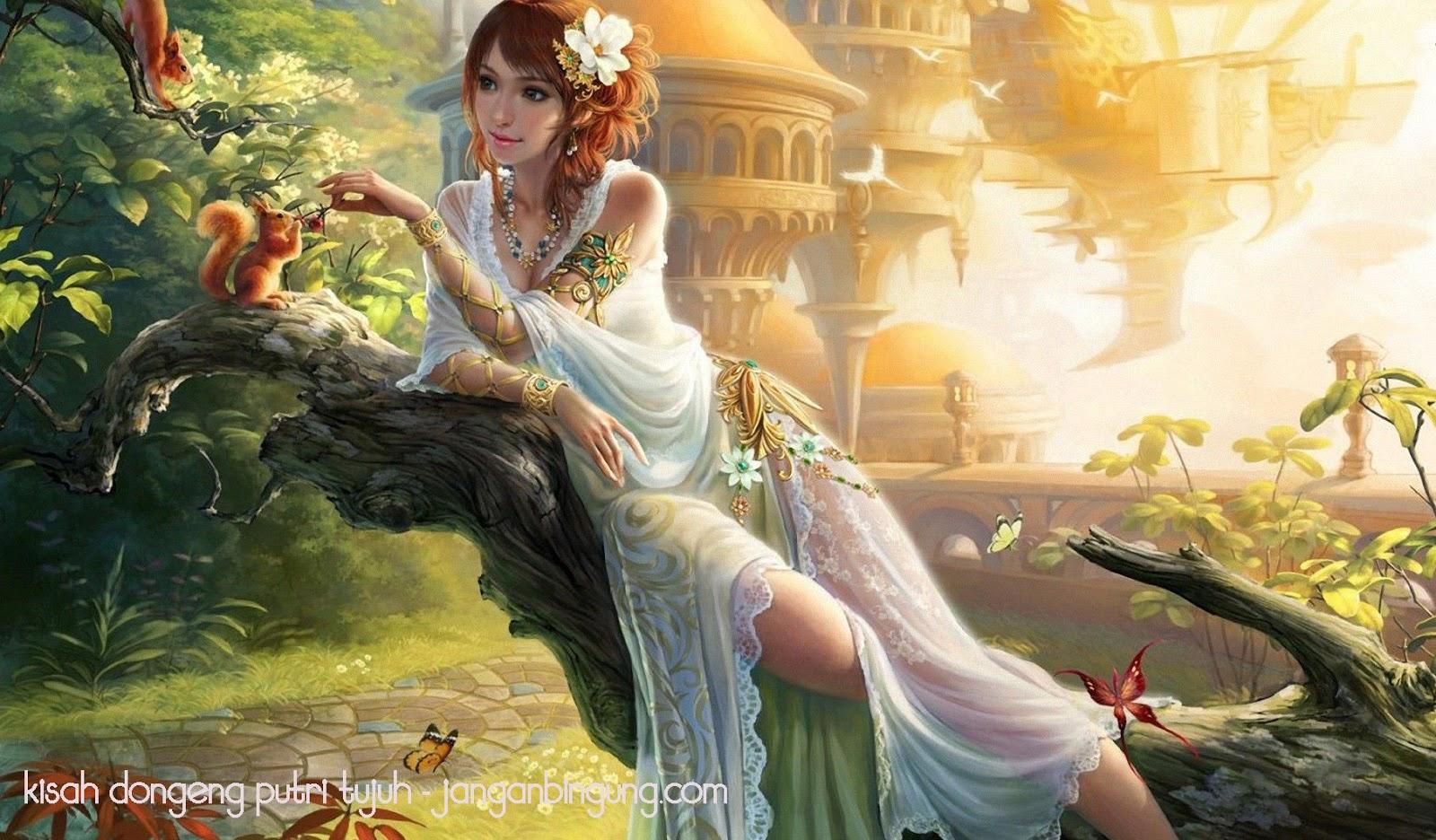 kisah dongeng putri tujuh