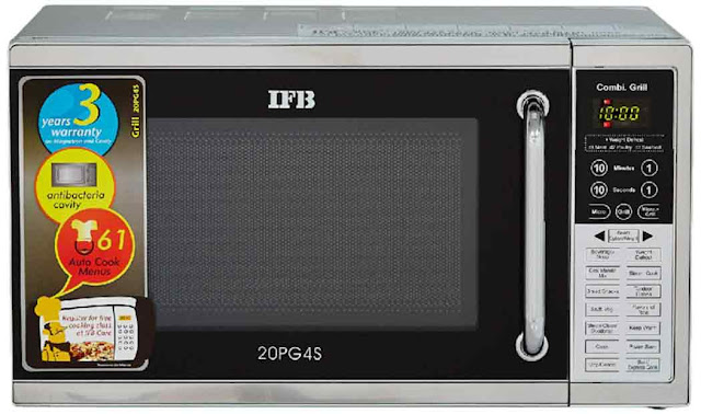IFB (20PG4S, Black/ Silver) - best microwave oven