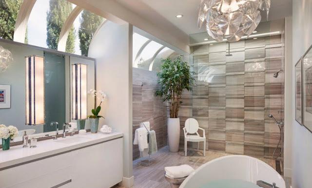 Phòng tắm đẹp lấy cảm hứng từ thời trang - 4
