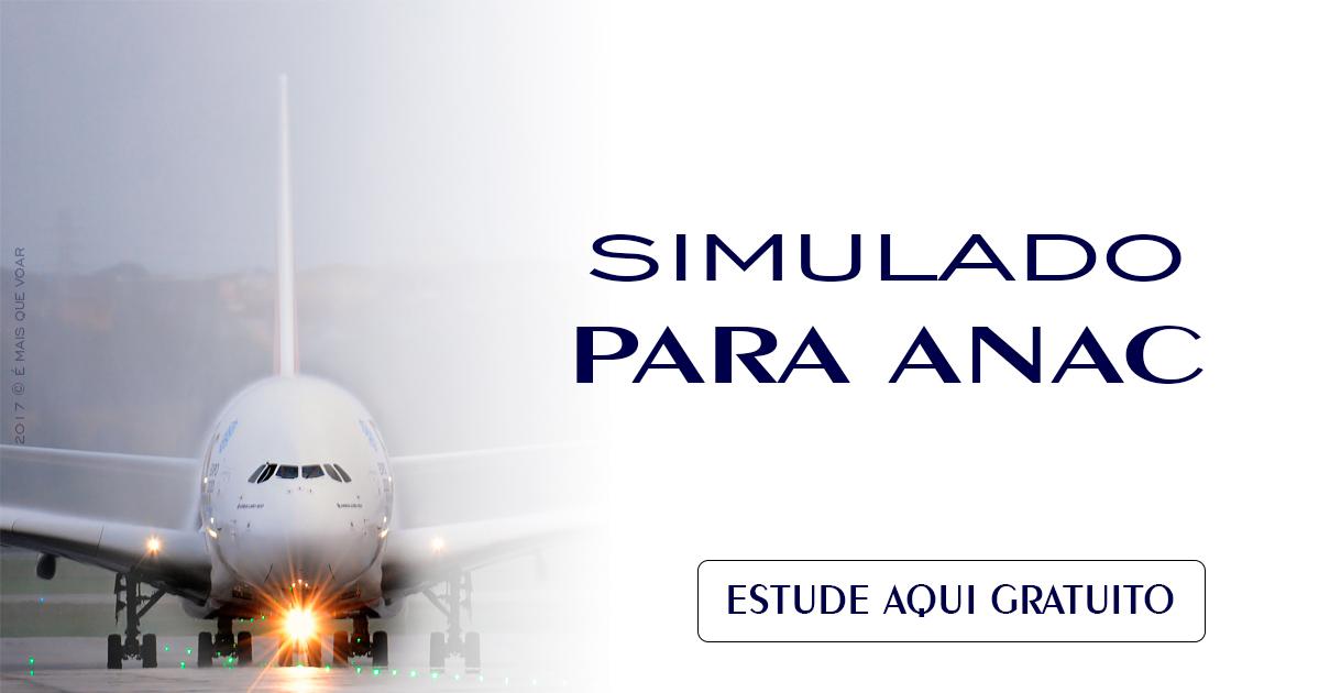 Simulado para Banca da ANAC (Comissários de Voo) ● Edição 1