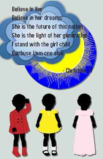 Believe in the girl child, believe in her dream