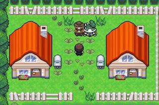Pokemon Verde Musgo en Español para GBA Pueblo Ceres