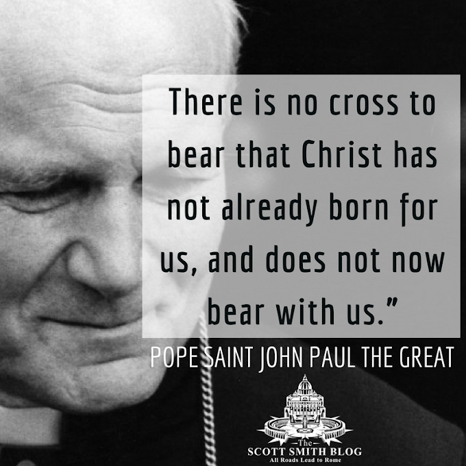 Saint Quote of the Day from Saint Pope John Paul
