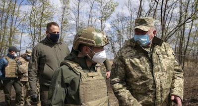 Зеленський змінив начальника Генштабу, командувачів ДШВ та ООС