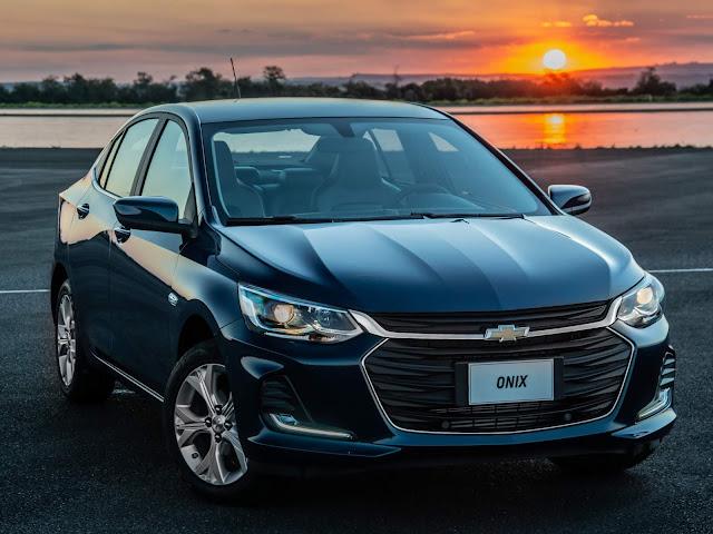 Chevrolet Onix Plus 2020 - 4º carro mais vendido do Brasil