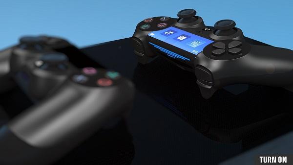 بالصور تسريب صورة تكشف شكل يد تحكم جهاز PS5