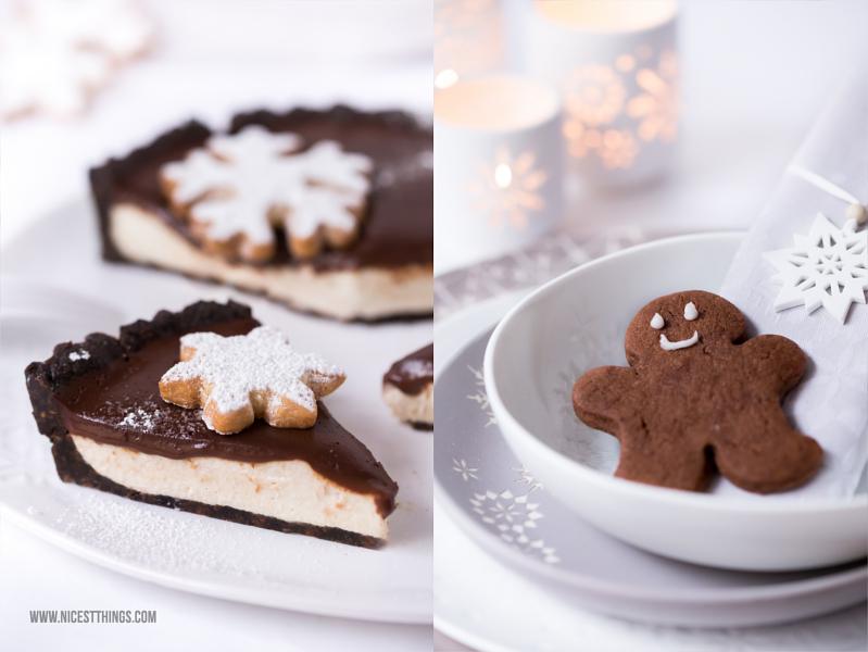 Lebkuchen Zimt Cheesecake Tarte Rezept