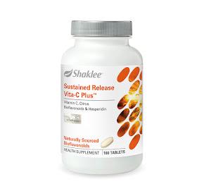 SUSTAINED RELEASE VITA-C PLUS SHAKLEE (SR VITA-C)