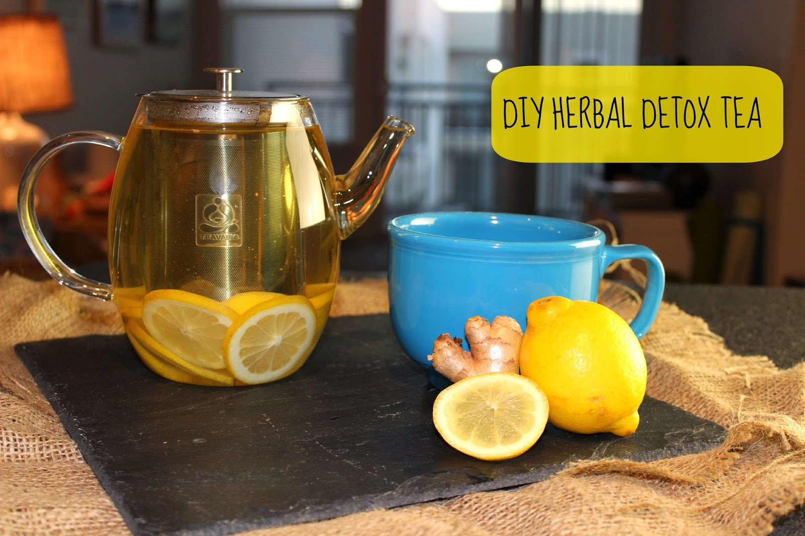 ... quite frankly many of the store bought detox teas I've tried tasted like weeds- which, yes, many of them are, but they don't have to taste like them!