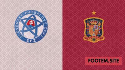 Spain vs Slovakia