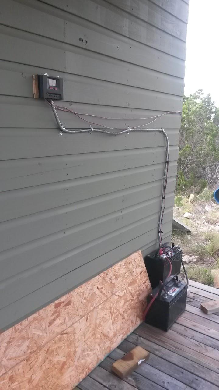 Steve's HillBilly Mojo: Off Grid Cabin Solar Power Made