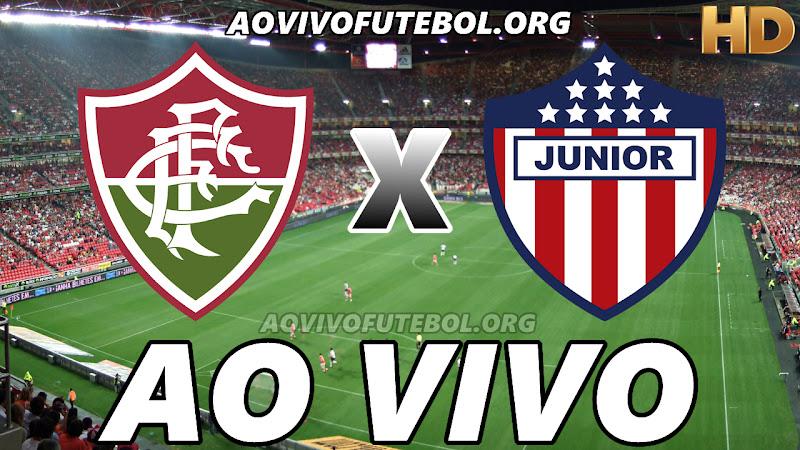 Assistir Fluminense vs Junior Barranquilla Ao Vivo HD