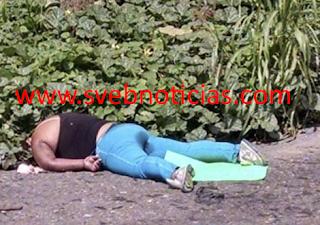 Hallan cuerpo de una mujer sobre carretera en Tihuatlan Veracruz