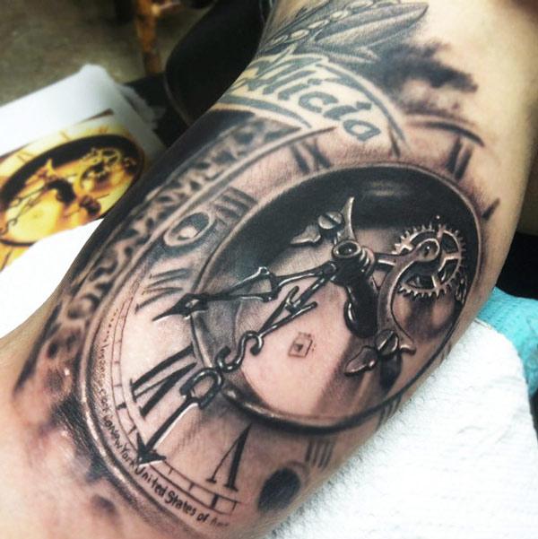 Tatuaże Zegary Czas Tatuaże 100 Pro