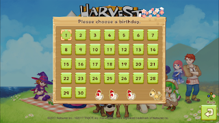 game harvest moon