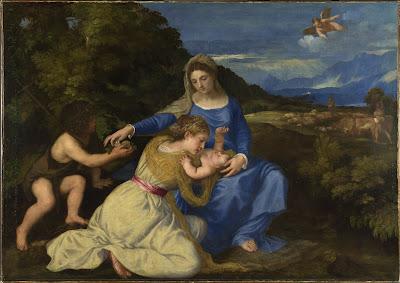 Titian The Aldobrandini Madonna