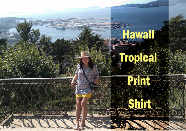 Hawaii-Tropical-Print-Shirt
