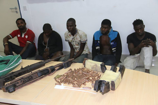 Nigeria Police Force arrested 5 suspects