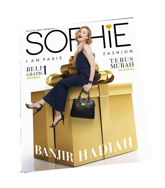 Catalog, katalog sophie, katalog sophie paris, katalog sophie paris indonesia, katalog sophie paris 191, katalog sophie paris oktober 2019, catalog sophie paris, catalog sophie paris indonesia, catalogue sophie paris, banjir hadiah, banjir hadiah sophie paris, sophie martin, sophie martin indonesia, fashion, dashion sophie paris