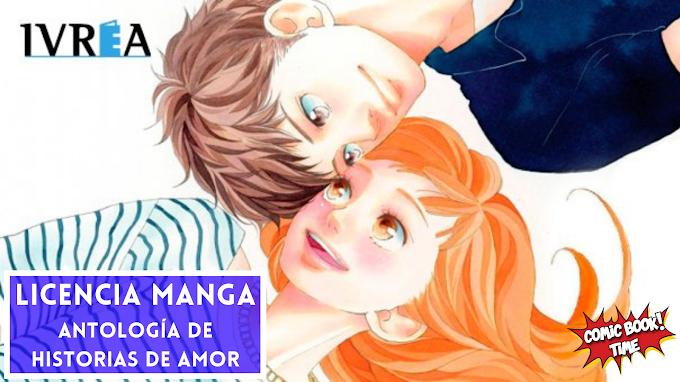 Licencia Manga: Ivrea Editorial licencia 'Antología de historias de amor de Io Sakisaka'