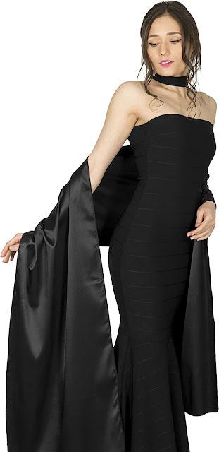 Elegant Satin Shawls Wraps Scarfs for Evening Dresses