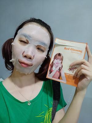 Celebon Red Ginseng Collagen Essence Mask