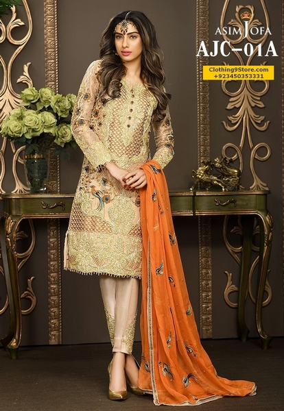 Asim Jofa Eid-ul-Fitr Mysorie Chiffon Collection 2017