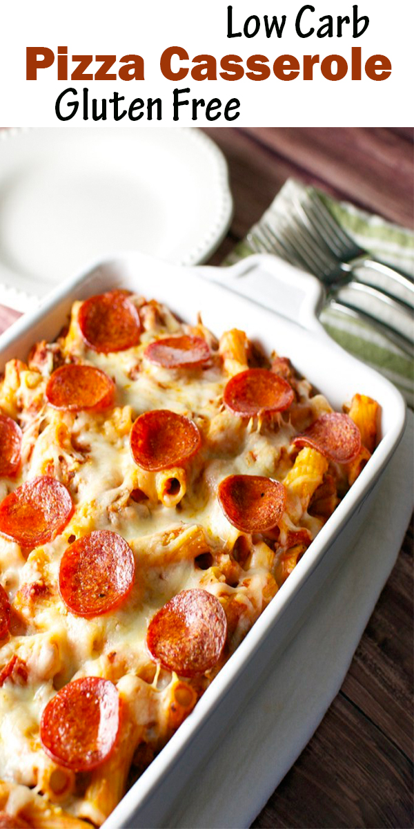 Low Carb Pizza Casserole - Gluten Free #LowCarb #Pizza #Casserole - #GlutenFree#LowCarbPizzaCasserole-GlutenFree