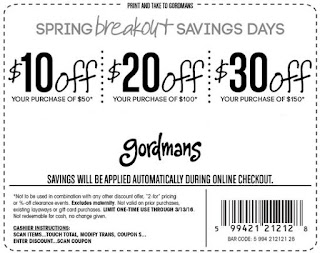 photo about Gordmans Printable Coupon named Gordmans coupon code dec 2018 : Rogers world wide web packages