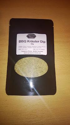 BBQ Kräuter Dip in der verpackung