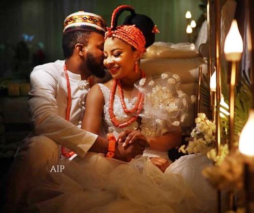 Actress Linda Ejiofor Weds Actor, Ibrahim Suleiman