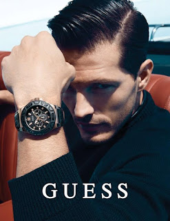 Sexy Model Diego Miguel is the face of Guess Accessories 2016 AD Campaign. See photo spread at JasonSantoro.com