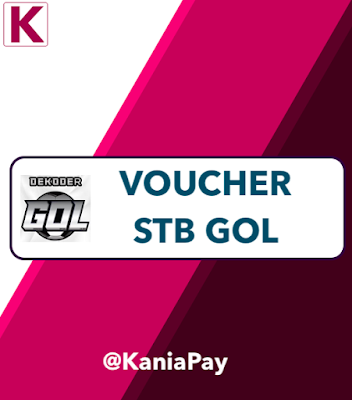 Voucher K-Vision GOL: Cara Isi Saldo STB GOL Secara Online