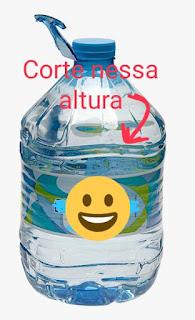 Bolsa de garrafa de água mineral