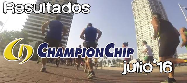 Lliga Championchip Julio 2016