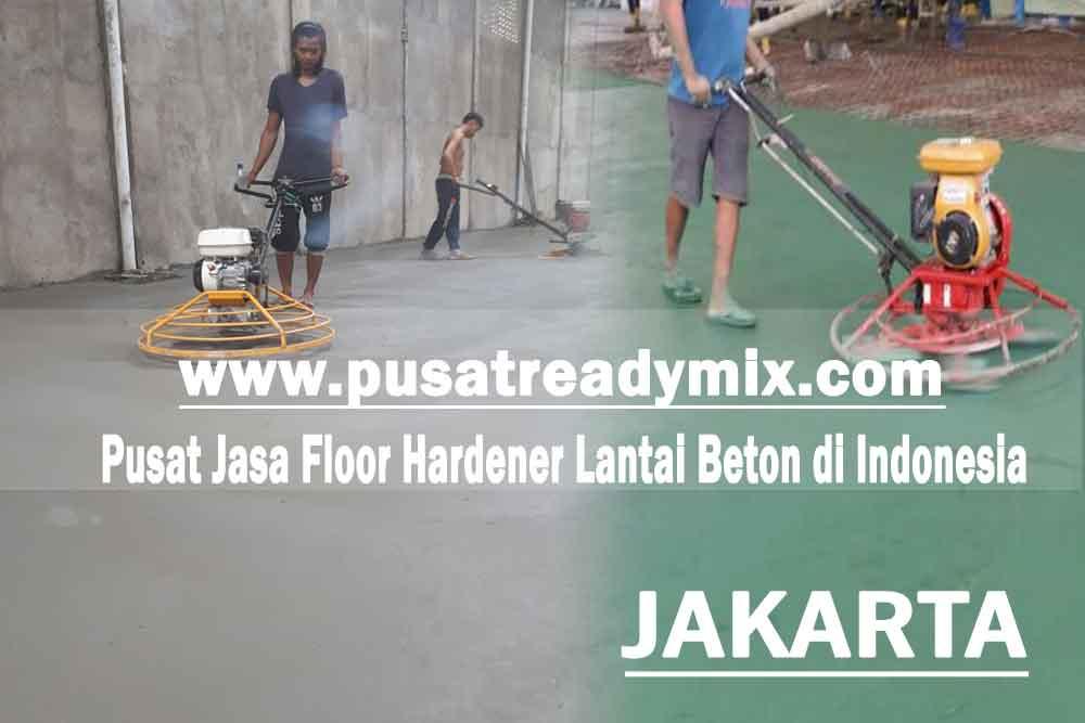 Harga jasa floor hardener lantai beton Jakarta 2020
